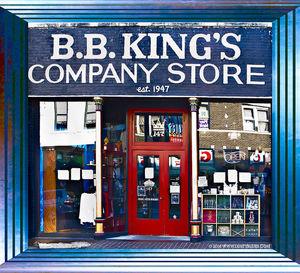 BB King Store print