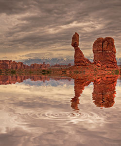 Balanced Rock Reflection print