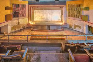 Balcony Theater print