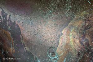 Copper Cosmos print