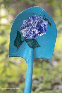 Floral Scoop print