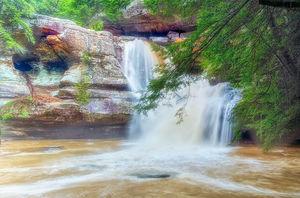 Cedar Falls High Water print