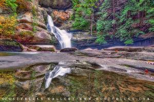 Cedar Falls Reflections print