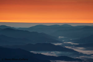 Clingman Dawn print