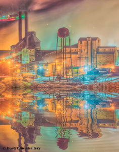Cold Steel Mill print