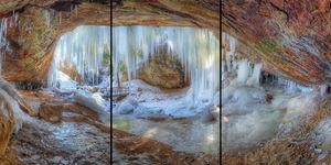Ice Cave print