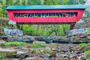 Helmic Covered Bridge print