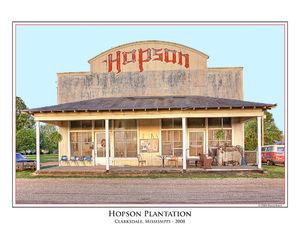 Hopson Commisary print