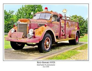 Delta Firetruck print