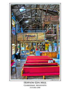Gin Mill Stage View print