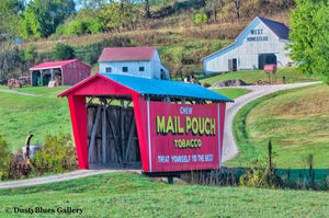 Mail Pouch Covered Bridge print