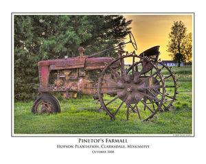 Pinetops Farmall print