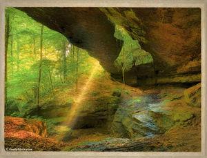 Rock Bridge print