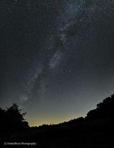 Hocking Hills Milky Way print