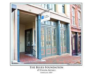 Blues Foundation print