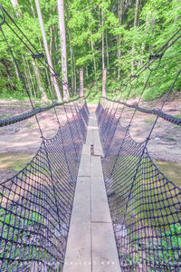 Swinging Bridge print