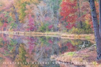 Art gallery in hocking hills, crystal falls hocking hills, hocking hills photo prints, logan ohio gallery, Hocking Hills Photography, Lake Hope, Lake Hope Reflection, Lake Hope fall