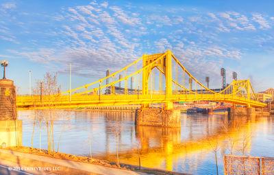 DustyBlues, Pittsburgh, Roberto Clemente Bridge, 6th Street, Bridge