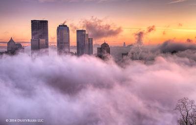 DustyBlues, Pittsburgh, Fog, mists, Sky