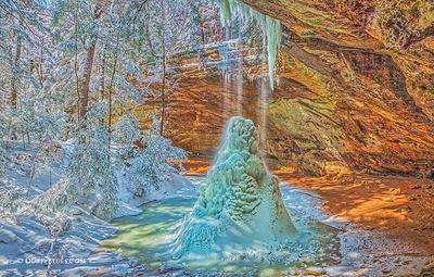 Ash Cave Crystal Falls