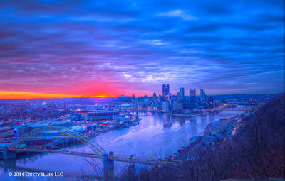 DustyBlues, Pittsburgh, Dawn, Glow Daybreak