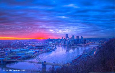 DustyBlues, Pittsburgh, Dawn, Glow Daybreak