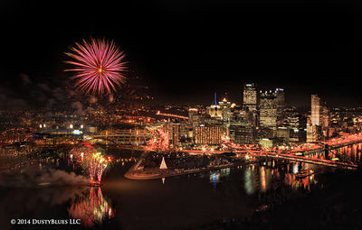 DustyBlues, Pittsburgh, Fireworks, Light Up