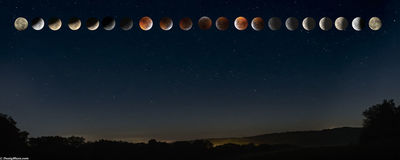 Eclipse of Full Blood Moon