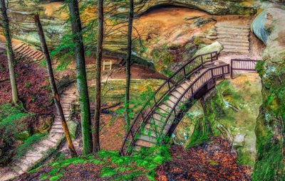 Art gallery in hocking hills, crystal falls hocking hills, hocking hills photo prints, logan ohio gallery, Hocking Hills Photography, Stairway to Heaven, Long Tunnel Stairs, Stepping out, Contemplativ
