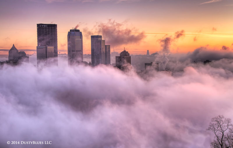 Above the Mists print