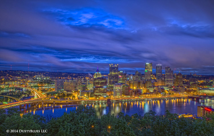 DustyBlues, Pittsburgh, Dawn, Rainy