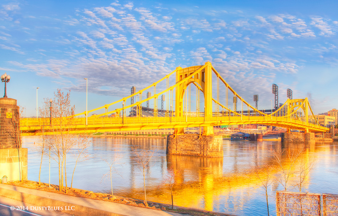 DustyBlues, Pittsburgh, Roberto Clemente Bridge, 6th Street, Bridge , photo