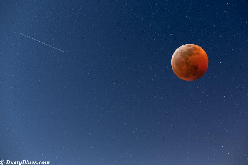 Blood Moon Eclipse, photo