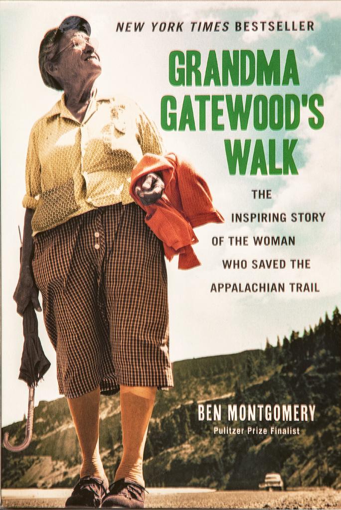 Grandma Gatewood Book Cover of her hiking