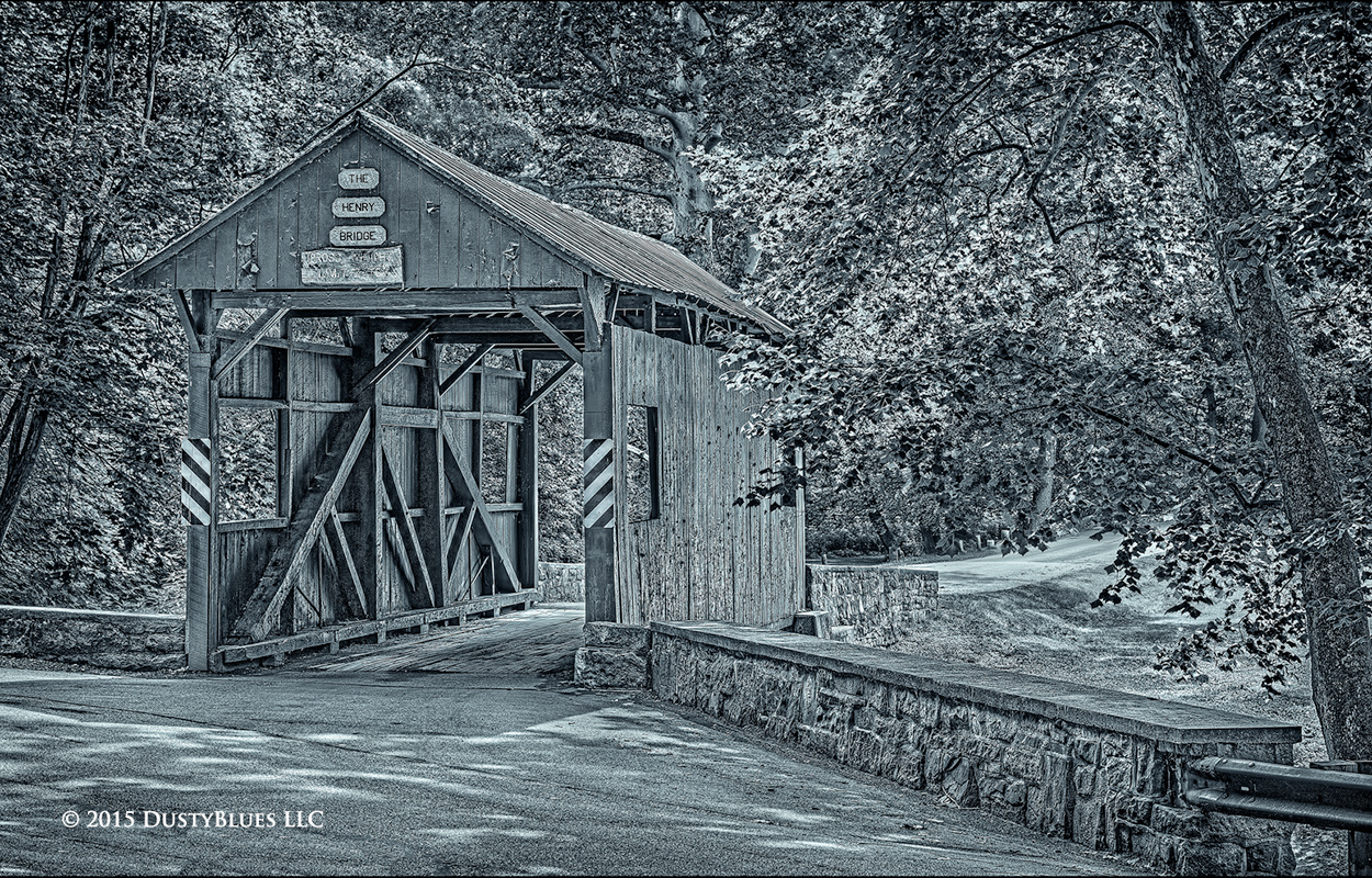 Covered Bridge, Mingo Creek  County Park, Nostalgia, Sentimental, Washington County, Pittsburgh Photographer, Pittsburgh Photography, Pittsburgh Fine Art Photography, Blues Photography, Fine Art Photo, photo