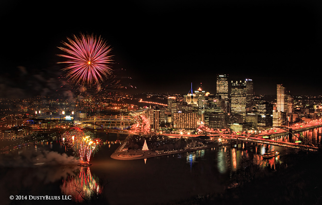 DustyBlues, Pittsburgh, Fireworks, Light Up , photo