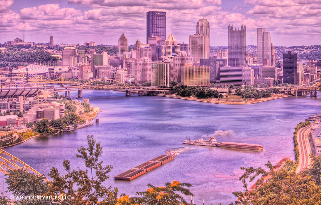 DustyBlues, Pittsburgh, Tug Boat, Barges, Captains , photo