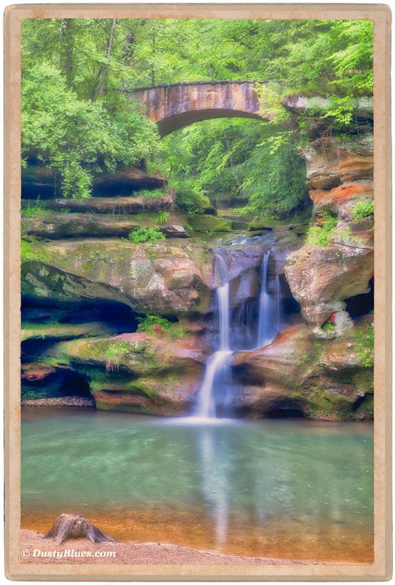 Hocking Hills Postcard Impressions by DustyBlues Gallery