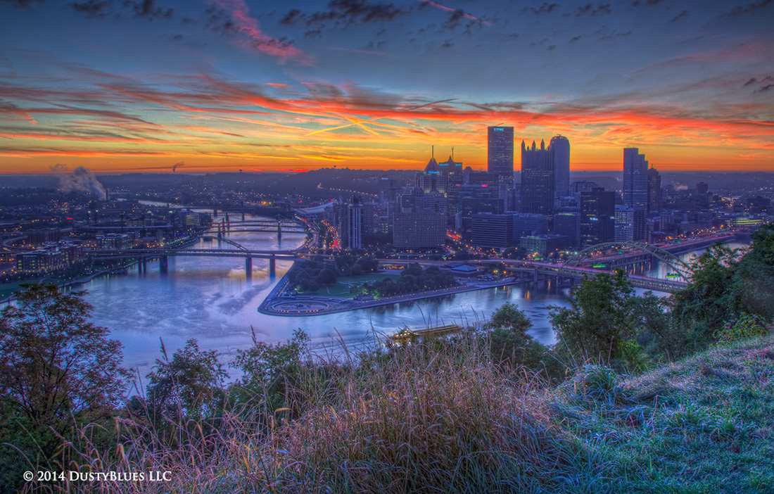 DustyBlues, Pittsburgh, Rising, radiance , photo