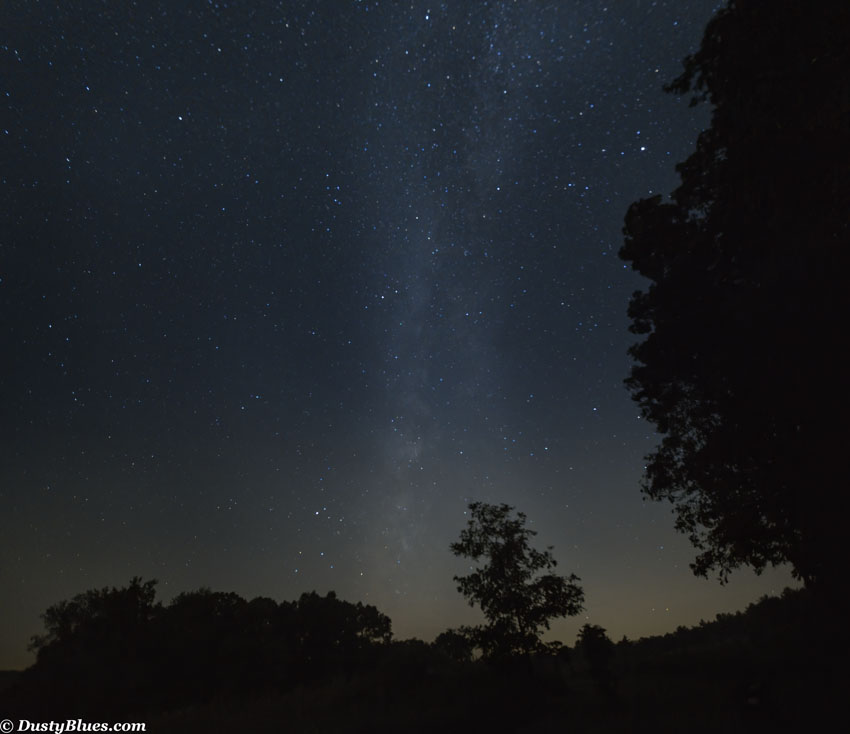 Milky Way Panorama , photo