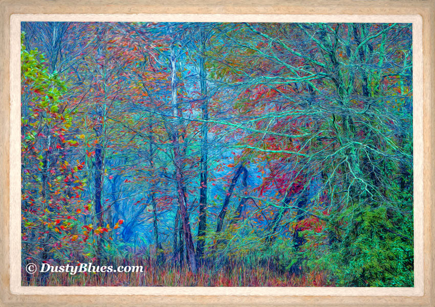 Hocking Hills Postcard Impressions by DustyBlues Gallery